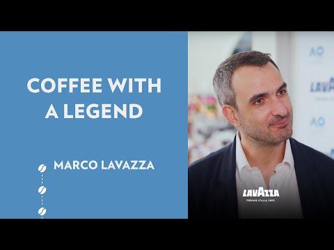Coffee With a Legend - Australian Open 2019: Marco Lavazza