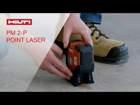 OVERVIEW of Hilti's PM 2-P compact two-point laser