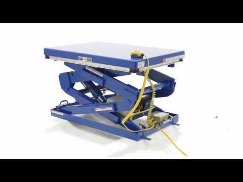 Double Scissor Lift Tables EHLTD-3448-4-70