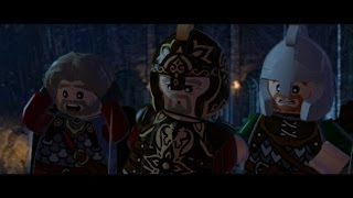 LEGO Lord of the Rings Walkthrough Part 11 - Helm's Deep