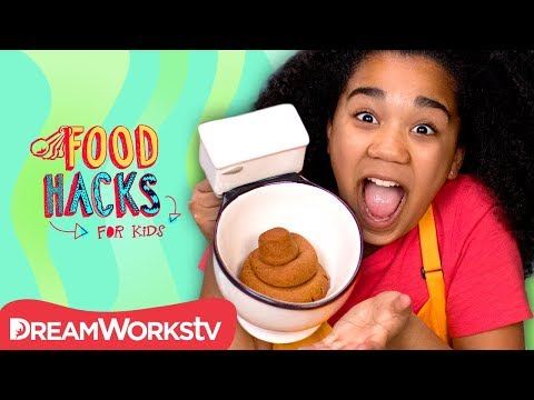 connectYoutube - Edible Poop Cookie and Other Gross Food Pranks | FOOD HACKS FOR KIDS