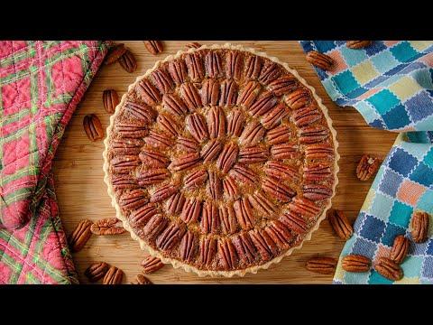Делайте с любыми орехами! КАРАМЕЛЬНЫЙ ОРЕХОВЫЙ ПИРОГ | тарт c пеканом | пекан пай | рецепт Pecan Pie