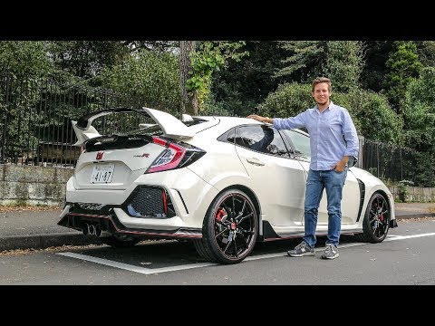 Honda gave me a Civic Type-R to Explore Japan [Sub ENG]