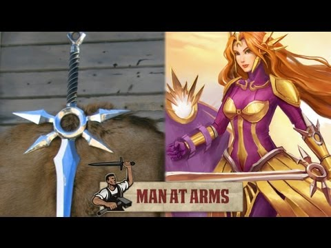 "Video: ""League of Legends"" Leona Zenith kardas realybėje. - Kur jūsų Dievas dabar?"