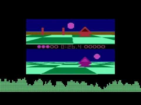 Intro de Ballblazer para computadoras Atari 8-bits