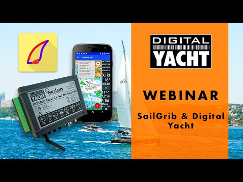 Digital Yacht products integration with the Android app SailGrib