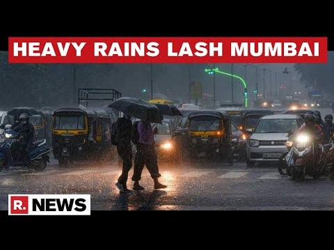IMD Issues High Alert In Mumbai, Heavy Rains Predicted Till June 14   Republic TV's Ground Report