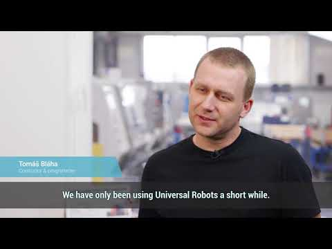 BAUMRUK BAUMRUK uses UR10 collaborative Robots for Machine Tending CNC Pick and Place