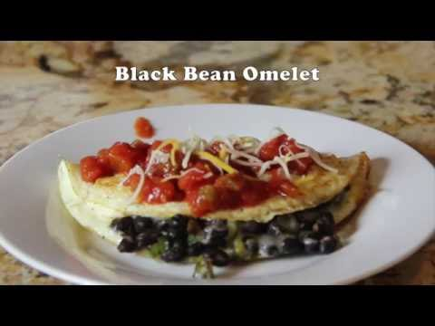 Black Bean Omelet Recipe