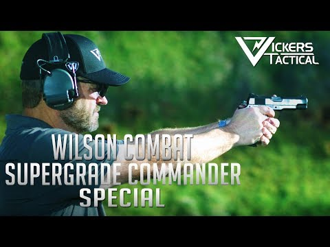 Wilson Combat Supergrade Commander Special 1911