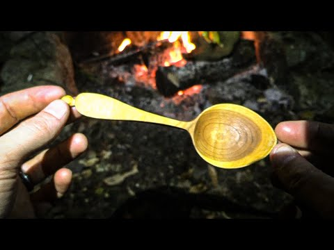 Bushcraft Spoon - Hand Carved | Sloyd Craft