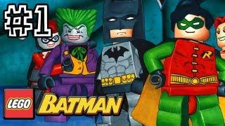 LEGO Batman 100% Walkthrough - You Can Bank on Batman (HD Let's Play)