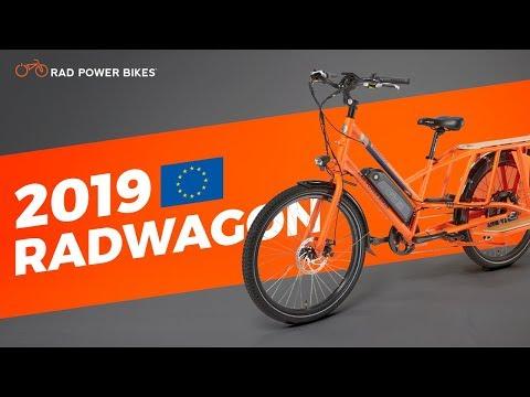 2019 RadWagon -- European L1e-A Electric Cargo Bike from Rad Power Bikes