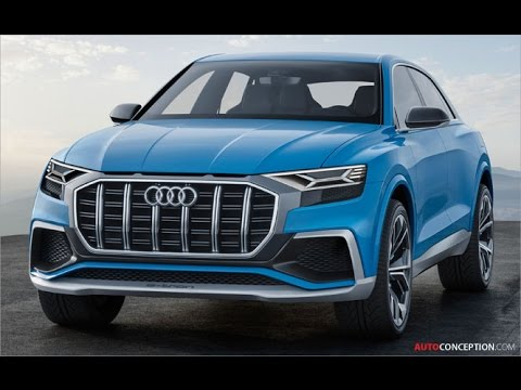 Car Design: 2017 Audi Q8 Concept (Close Up)