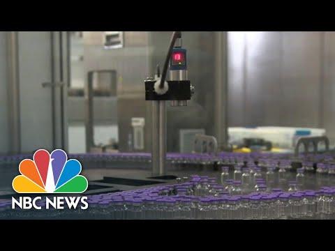Stocks Surge Following Positive Vaccine News | NBC News NOW