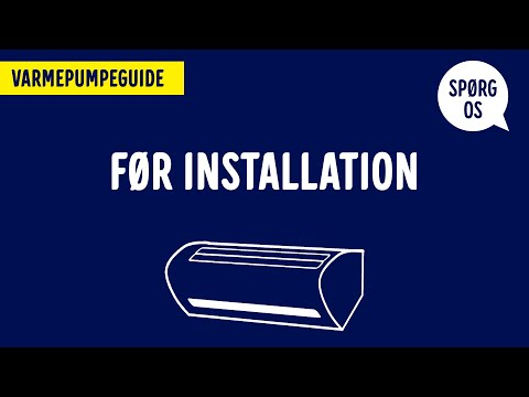 Varmepumper – hvordan skal man forberede installationen?