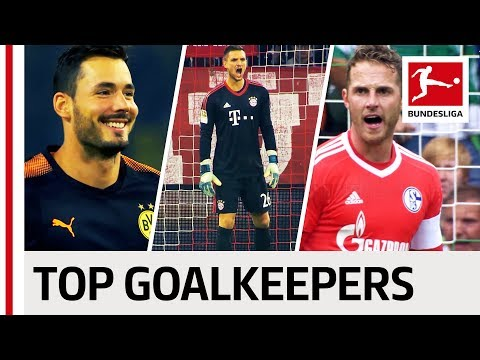 Top 5 Goalkeepers - 2017/18 Season So Far