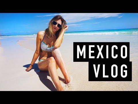 MEXICO VLOG! Cartwheels Coconuts + Cliff Jumping