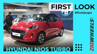 Hyundai Grand i10 Nios Turbo Petrol First Look Auto Expo 2020