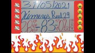 NUMEROS PARA HOY 31/05/2021 DE MAYO PARA TODAS LAS LOTERIAS