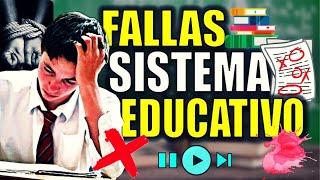 Fallas del Sistema Educativo - ¿Hay algo detrás ¿Control de población | Crítica y opinión
