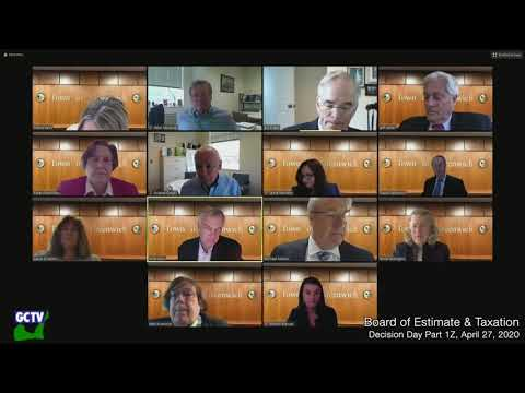 Board of Estimate & Taxation Decision Day Part I, April 27, 2020