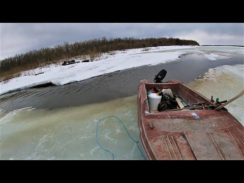Жизнь в тайге  Один и надолго  Часть 7  Опасный лёд  ЭКСТРИМ