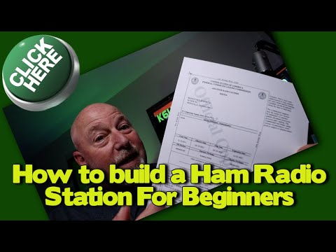 Building a New Ham Radio Station for Beginners. Ham Shack Building 101