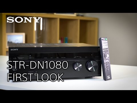 The new STR-DN1080 AV Home Cinema Receiver