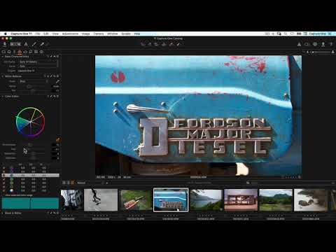 Editing & Exporting | Tutorial | Capture One Express