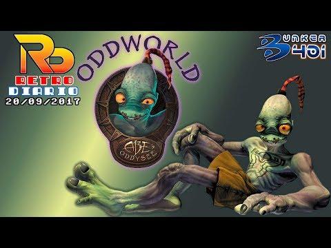 RetroDiario Noticias Retro (20/09/2017) #0002 - OddWorld: Abe's Oddysee | Retro