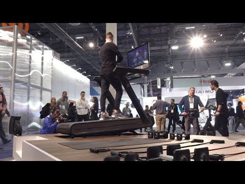 connectYoutube - The Peloton internet-connected treadmill first look