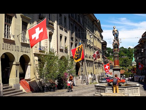 Old City of Bern, Switzerland in 4K