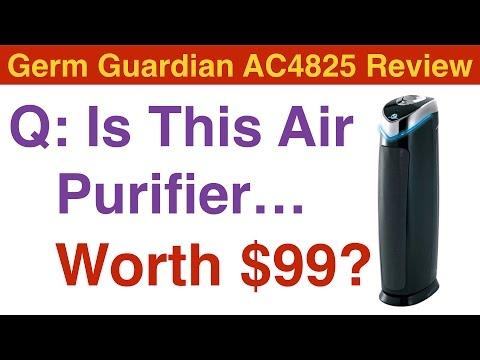 Germ Guardian Air Purifier Review - AC4825 - Is It worth $99.99?