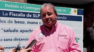 Autoridades coordinadas realizan cateo en colonia Santa Fe de SLP