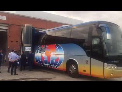 Equipo Móvil de Lavado Autobuses en Barcelona