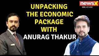 ANURAG THAKUR EXCLUSIVE: BEYOND THE 20L CRORE | NewsX - NEWSXLIVE
