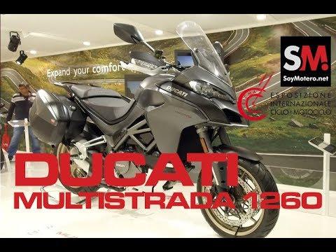 Ducati Multistrada 1260 2018 / EICMA 2017 [FULLHD]