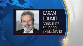 150 ecuatorianos viven en Líbano