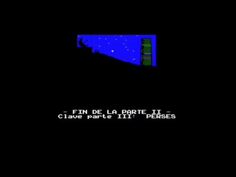C.C.R.: Anexo 1, El Algoritmo (PARTIDA COMPLETA / WALKTHROUGH) MSX1