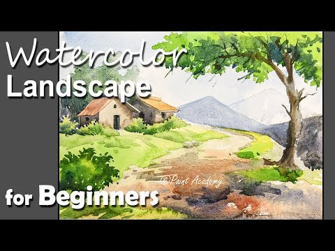 Watercolor Landscape for Beginners