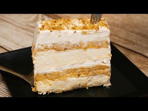 Torta Japanski vetar / Japanese wind meringue cake (ENG SUB)