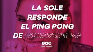 Soledad Pastorutti responde el PING PONG de la CUARENTENA - Espectáculos en #TFN