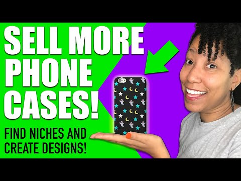 How to Sell More Phone Cases (Keyword Tips & Design Tutorial) – Merch By Amazon / Print on Demand