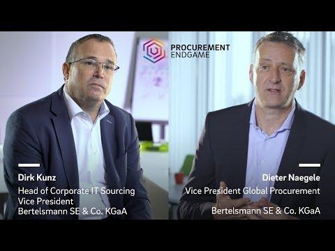 Dieter Naegele and Dirk Kunz (Bertelsmann) on The Procurement Endgame