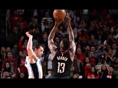 James Harden's 3 And-1 Gives Him Career-High, Franchise-Record 60 Pts | January 30, 2018