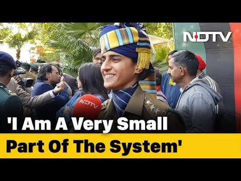 """""""Takes Courage"""": Captain Tania Shergill On Joining Army, Leading Parade"""