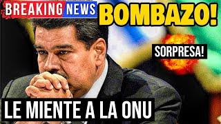 ????VENEZUELA HOY 21 Septiembre 2020 - NICOLAS MADURO LE MIENTE A LA ONU !ULTIMO MINUTO!