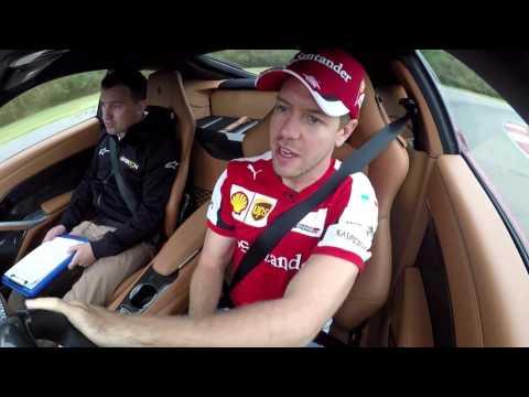 Sebastian Vettel Scares Will Buxton in a Ferrari F12 in Texas - Off the Grid