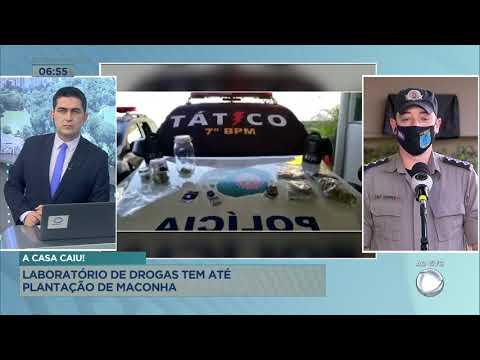 A CASA CAIU! - LABORATÓRIO DE DROGAS TEM ATÉ PLANTAÇÃO DE MACONHA.